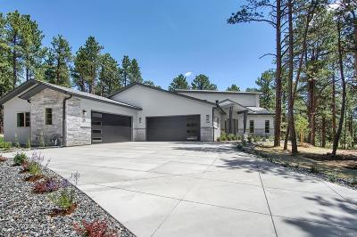 Monument Single Family Home Active: 1460 Trumpeters Court