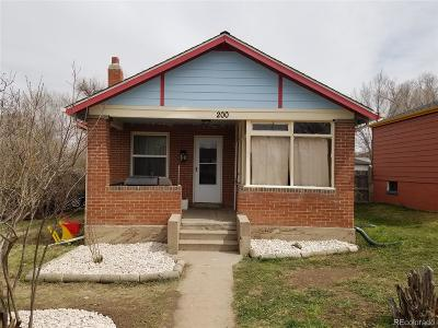 Denver Single Family Home Under Contract: 3722 West Cedar Avenue