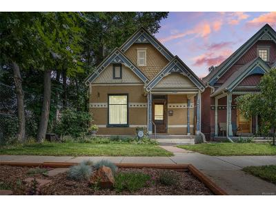 Denver Single Family Home Under Contract: 3846 North Gilpin Street