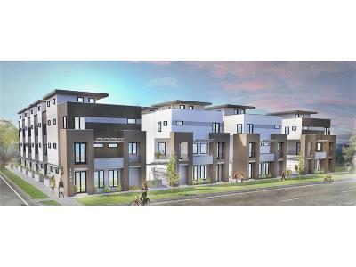 Denver Condo/Townhouse Under Contract: 1323 Elati Street #1