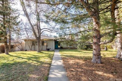 Denver Single Family Home Active: 1965 South Adams Street