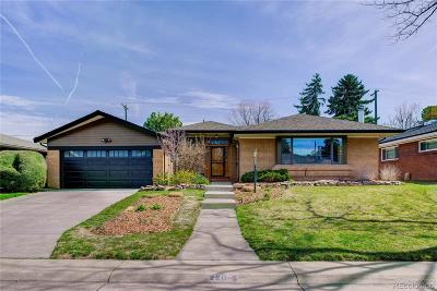 Denver Single Family Home Under Contract: 220 South Grape Street
