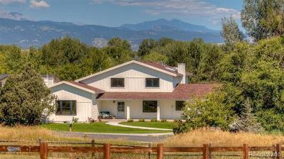 Niwot Single Family Home Active: 8063 Meadowlake Road