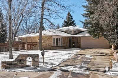 Boulder Single Family Home Under Contract: 3500 Kirkwood Place