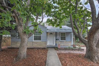 Denver Single Family Home Active: 4430 Raritan Street