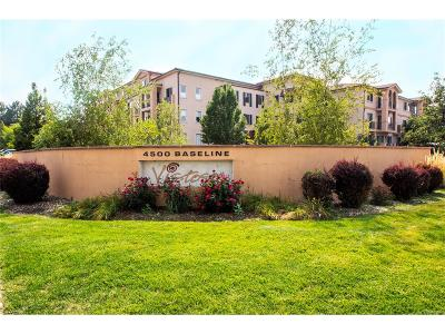 Boulder Condo/Townhouse Under Contract: 4500 Baseline Road #2301