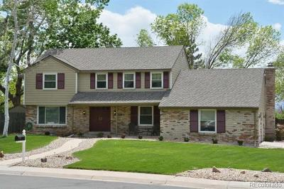 Centennial Single Family Home Active: 8406 East Hinsdale Drive
