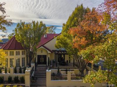 Denver Single Family Home Active: 1395 Bellaire Street