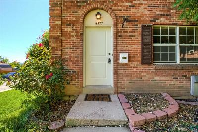 Denver Condo/Townhouse Active: 4527 South Lowell Boulevard