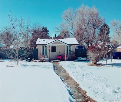 Englewood Single Family Home Under Contract: 3225 South Bannock Street