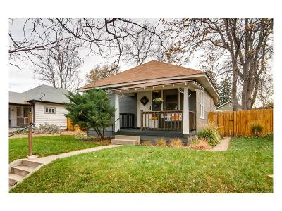 Denver Single Family Home Under Contract: 4536 Newton Street