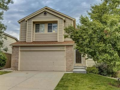 Castle Rock Single Family Home Active: 4859 North Foxtail Drive