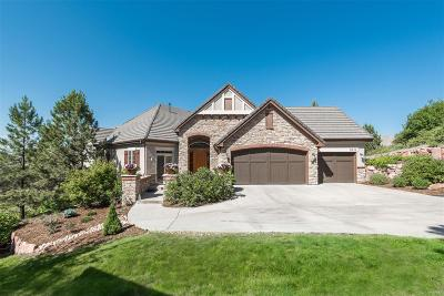 Castle Rock Single Family Home Active: 5111 Pine River Trail