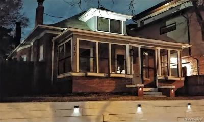 Denver Single Family Home Under Contract: 517 Josephine Street