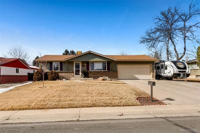 Arvada Single Family Home Under Contract: 5283 Arbutus Street