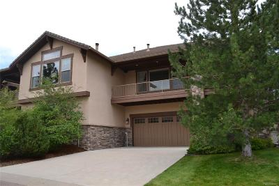 Castle Rock Condo/Townhouse Active: 4364 Chateau Ridge Lane