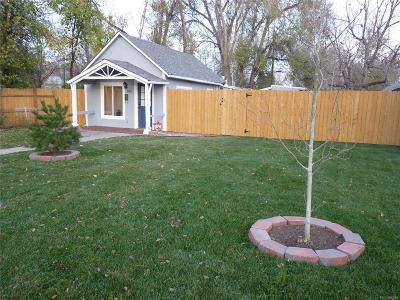 Denver Single Family Home Active: 160 North Quitman Street
