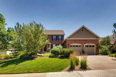 Castle Pines Single Family Home Active: 6776 Wellington Place