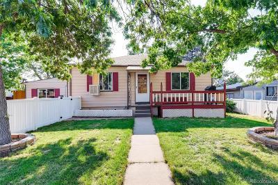Denver Single Family Home Active: 1827 South Irving Street