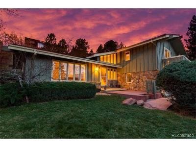 Boulder Single Family Home Active: 3150 Kittrell Court