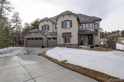 Castle Rock Single Family Home Active: 6872 Northstar Court