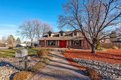 Arvada Single Family Home Under Contract: 7686 Jellison Street