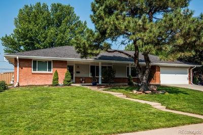 Denver Single Family Home Active: 3665 South Jersey Street