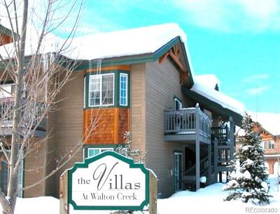 Steamboat Springs CO Condo/Townhouse Active: $419,000