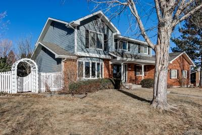 Colorado Springs Single Family Home Active: 4110 Stepney Court