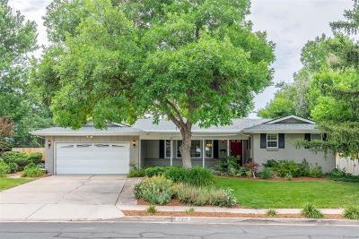 Centennial Single Family Home Under Contract: 7333 South Tamarac Street