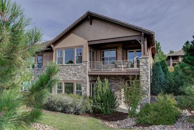 Castle Pines, Castle Rock, Larkspur Condo/Townhouse Active: 4342 Chateau Ridge Road