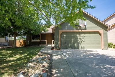 Aurora Single Family Home Under Contract: 3943 South Espana Street