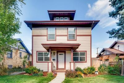 Denver Single Family Home Under Contract: 1875 South Lincoln Street