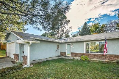 Arvada Single Family Home Active: 7478 North Pomona Drive