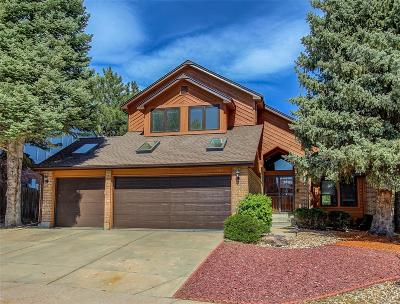 Lone Tree Single Family Home Under Contract: 7581 Rattlesnake Drive
