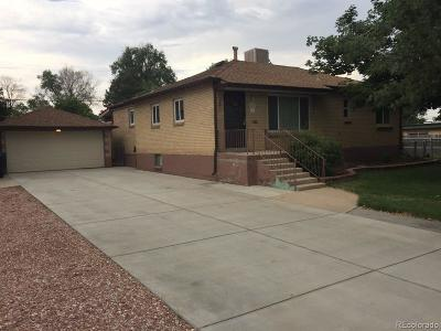 Wheat Ridge Single Family Home Under Contract: 5110 Swadley Street