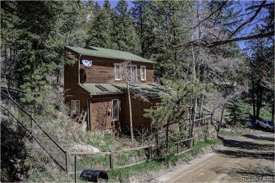 Evergreen Single Family Home Active: 1270 Beaver Brook Canyon Road