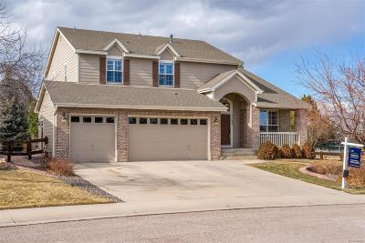 Castle Pines CO Single Family Home Under Contract: $649,900
