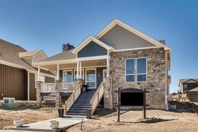 Castle Rock Single Family Home Under Contract: 4507 Fell Mist Way