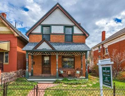 Denver Single Family Home Active: 3120 Meade Street