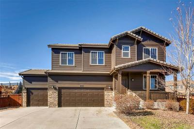 Castle Rock Single Family Home Active: 8185 El Jebel Loop