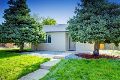 Denver Single Family Home Active: 3450 Monroe Street