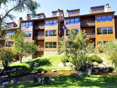 Steamboat Springs Condo/Townhouse Active: 2000 Ski Time Square Drive #310