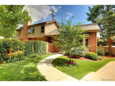 Denver Single Family Home Active: 390 South Hudson Street #7