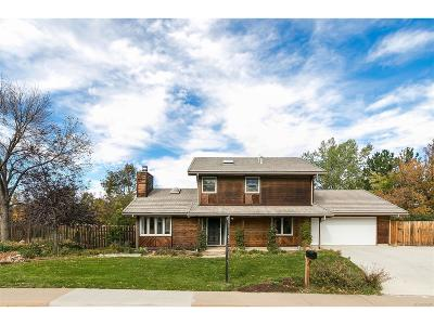 Boulder Single Family Home Under Contract: 4425 Apple Way