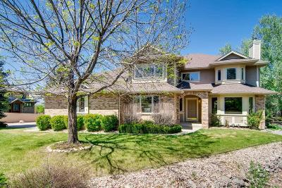 Niwot Single Family Home Under Contract: 8780 Skyland Drive