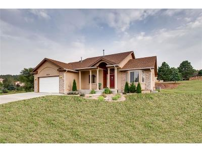 Monument Single Family Home Under Contract: 20225 True Vista Circle