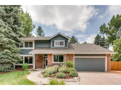 Centennial Single Family Home Under Contract: 6061 East Mineral Drive