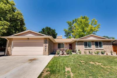 Thornton Single Family Home Active: 12862 Cherry Way