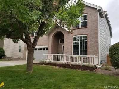 Centennial Single Family Home Active: 16540 East Hialeah Drive